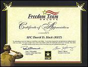 Freedom Team Salute